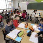 Els alumnes finalment han estrenat la nova escola de Roda