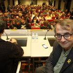 Vicent Partal va omplir l'auditori del BBVA de Vic