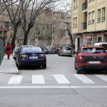 El carrer Soledat absorbeix molt del trànsit que surt del centre de Vic