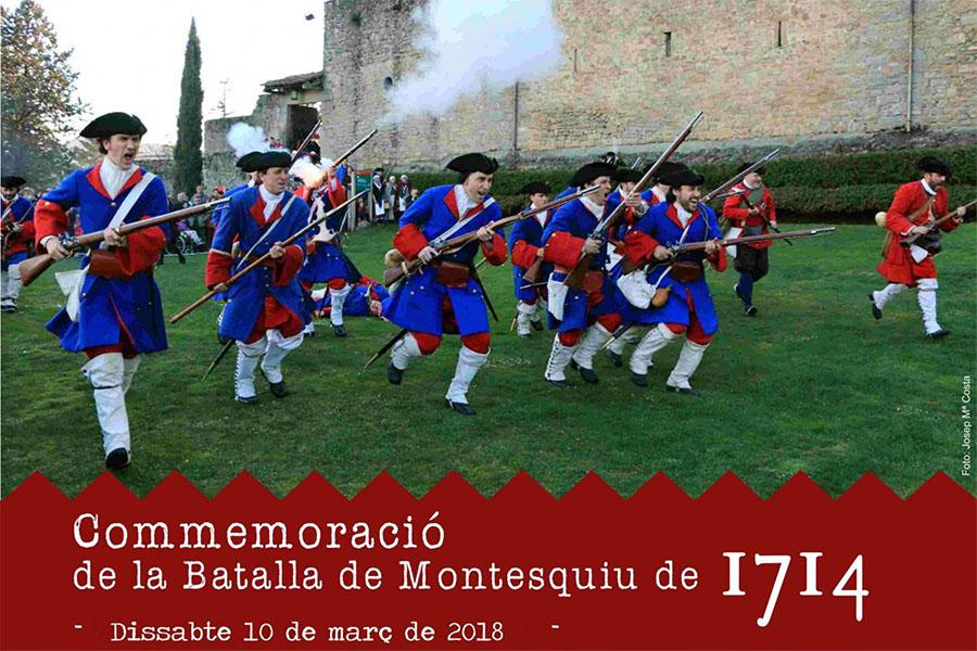 Imatge representativa de la Commemoració de la batalla de Montesquiu 2018