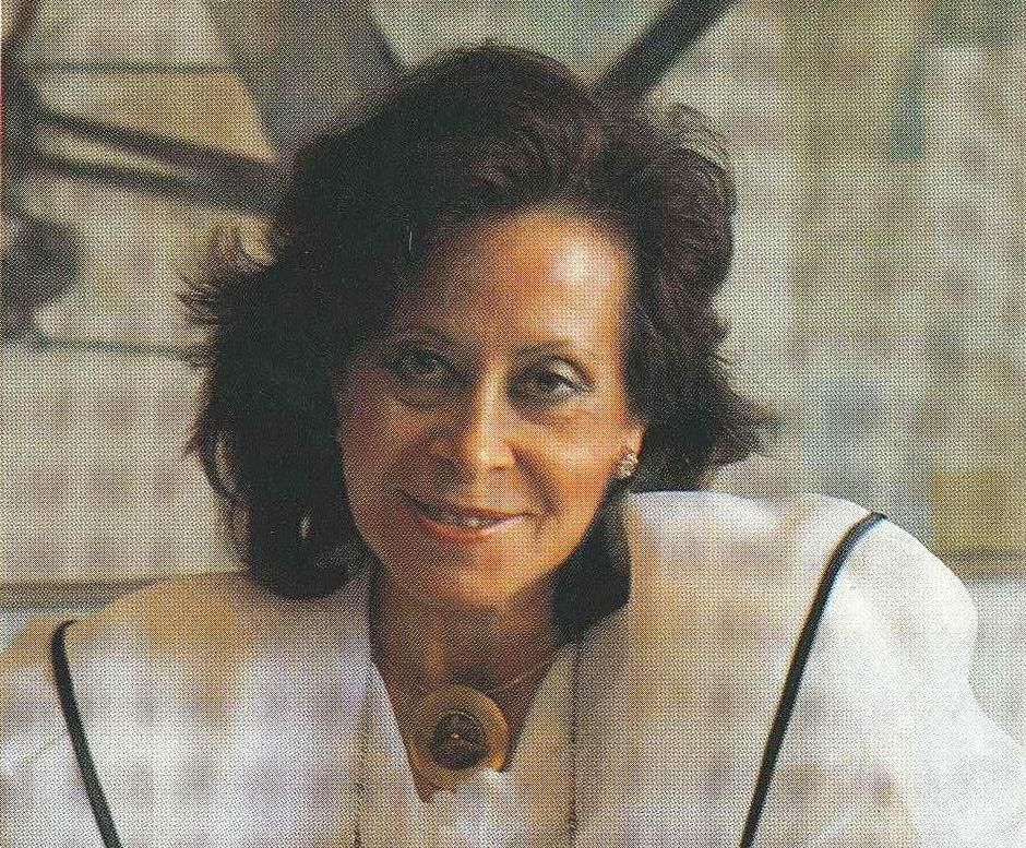 Margarita Rabasa en una foto inclosa al llibre 'Rabasa Derbi, 1922-1987'