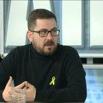 Jordi Casals durant l'entrevista a EL 9 TV