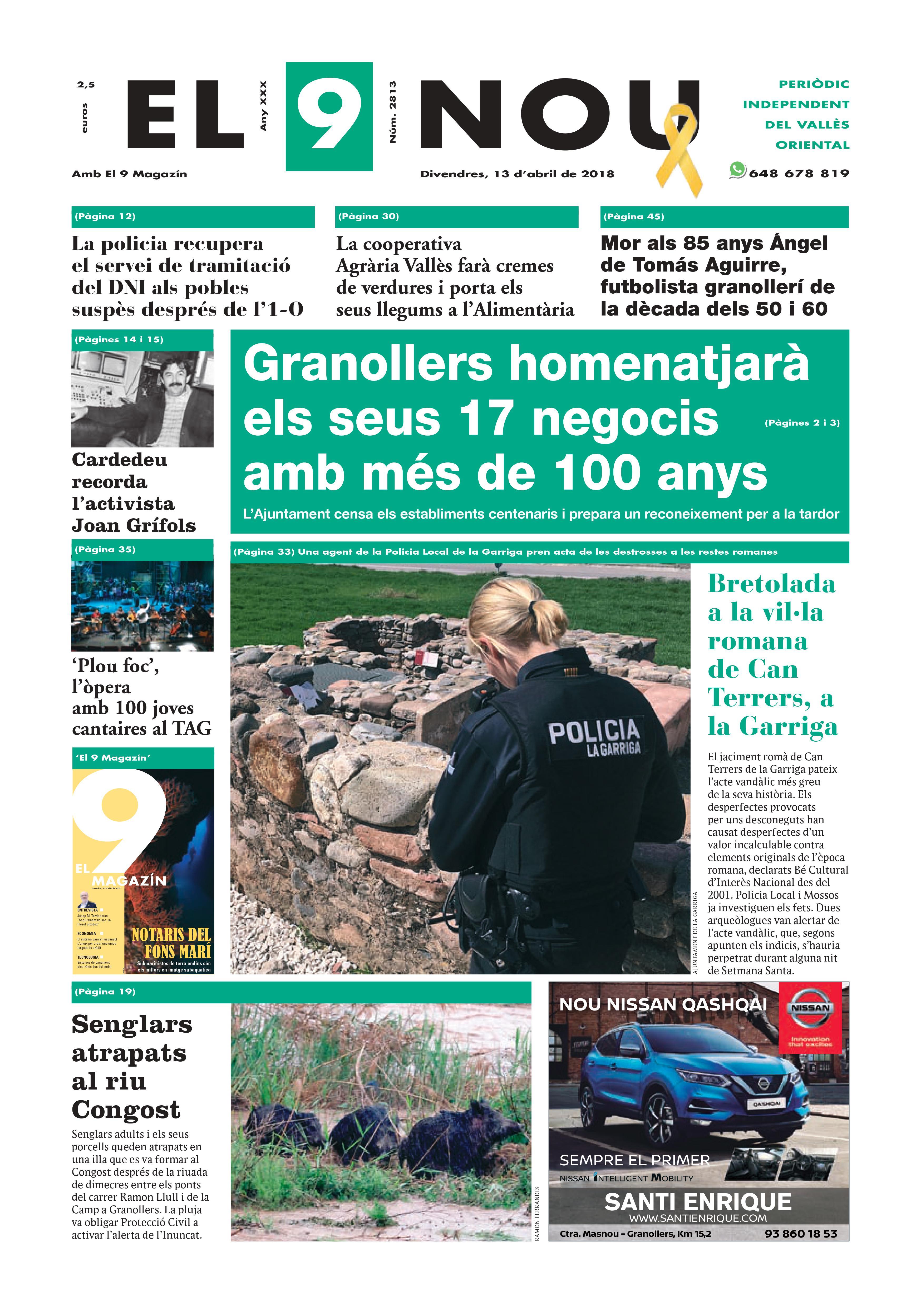 Primera plana EL 9 NOU 13_04_18 Vallès