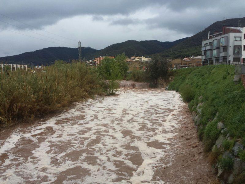 El riu Congost, al pont de Can Noguera de la Garriga / Pep Mas