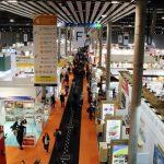 Imatge aèria d'un dels pavellons que acull Alimentaria i Hostelco a la Fira Barcelona | ACN