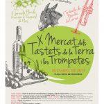 Cartell del 10è Mercat de Tastets i Trompetes