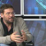 Albano Dante Fachin al plató del '7 dies' d'EL 9 TV