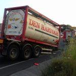 El camió és de l'empresa de Parets Den Hartogh