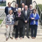 La nova junta del FòrumSD. Joan Sala, el síndic de greuges de Vic en forma part