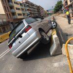El vehicle accidentat aquest dijous a la tarda