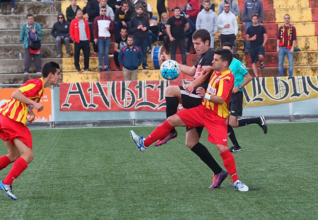 El Manlleu-Vic de la temporada passada va acabar amb golejada, 0-4