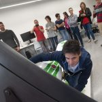Àlex Crivillé provant el simulador