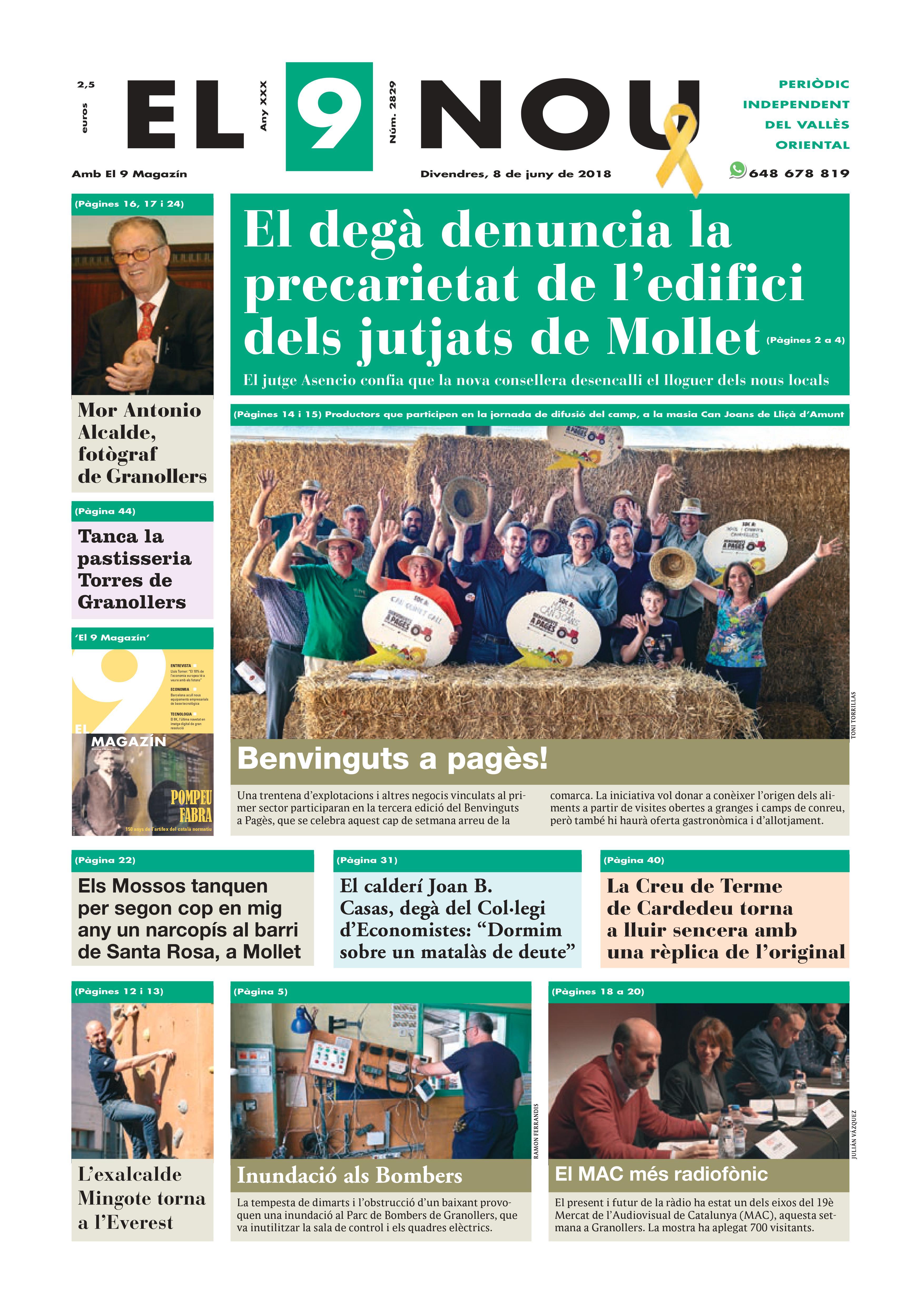 Portada Vallès Oriental 8/6/2018