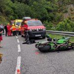L'accident ha tingut lloc al quilòmetre 138 de la N-260