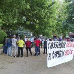 Càrnies en Lluita va tornar a protestar a Vic dissabte