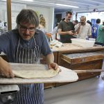 El forn de pa a Mas Corcó, a Manlleu