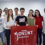 Foto de grup de la nova executiva de la JERC
