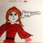 La Caputxeta Vermella, segons l'Aina