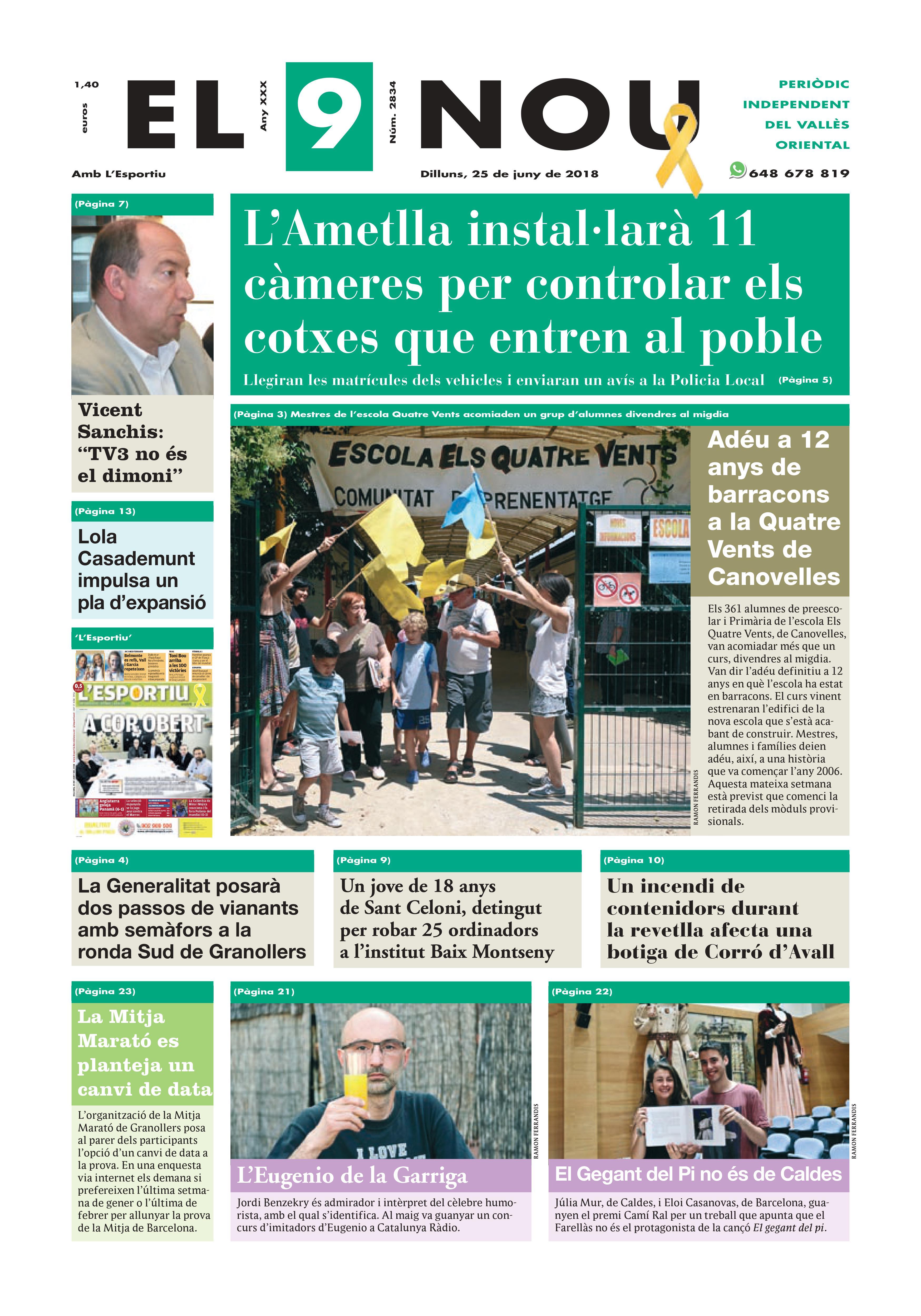 primera plana EL 9 NOU 25_06_18 Vallès