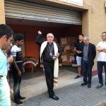 El bisbe va beneir el nou local aquest diumenge
