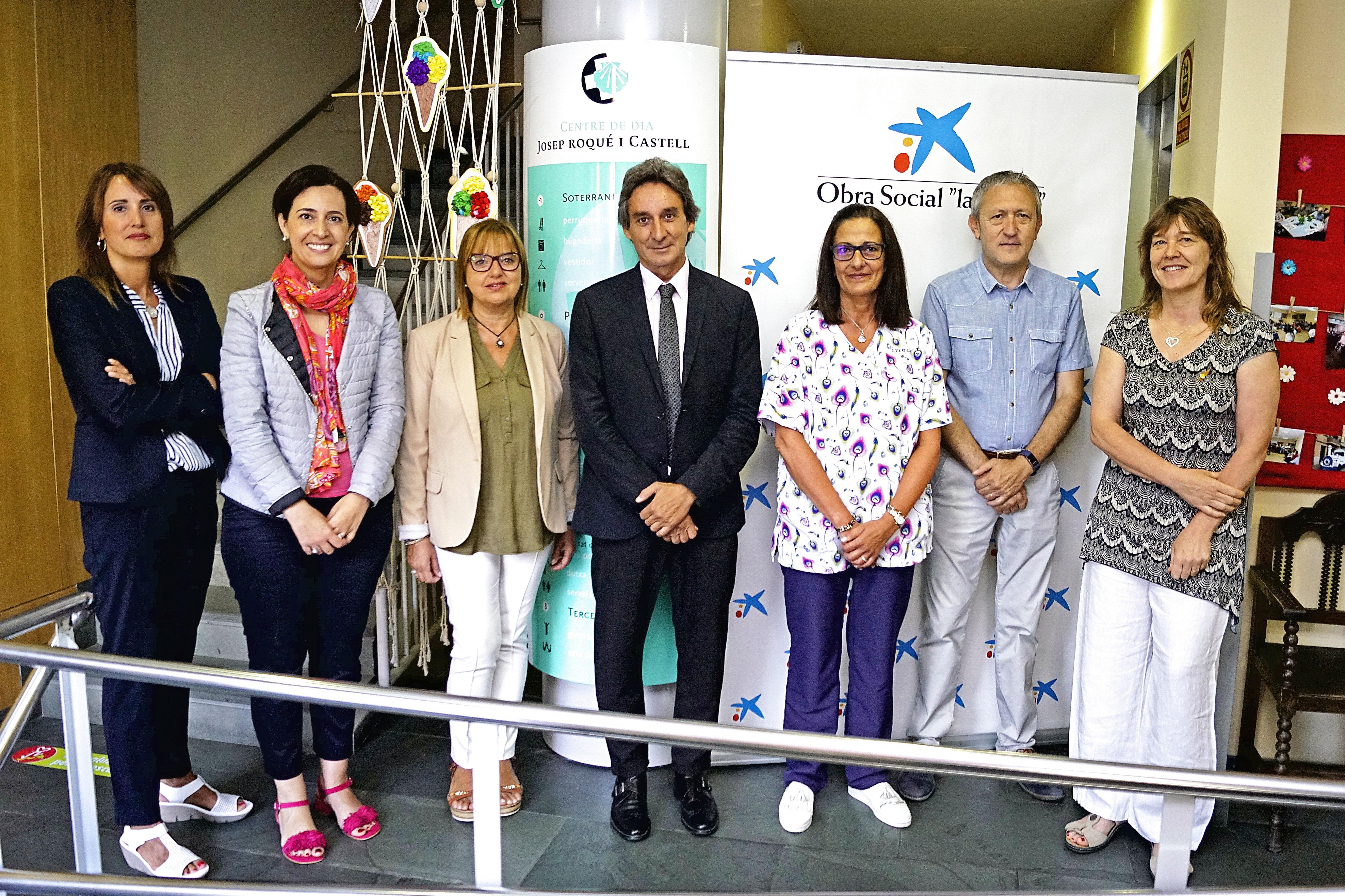 L'acte es va formalitzar al Centre de Dia Josep Roqué i Castell