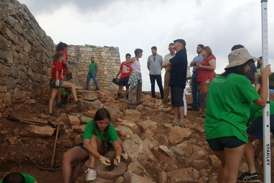 Activitat al camp de treball del Montgròs