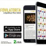 Interfície de la nova aplicació creada per l'Ajuntament de Sant Julià i 2click online technologies