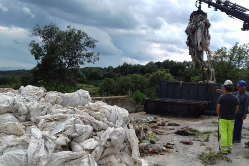 La quantitat de plàstics reutilitzables també s'ha incrementat en la recollida d'enguany