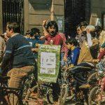 Manifestació reivindicativa per la preservació de Gallecs