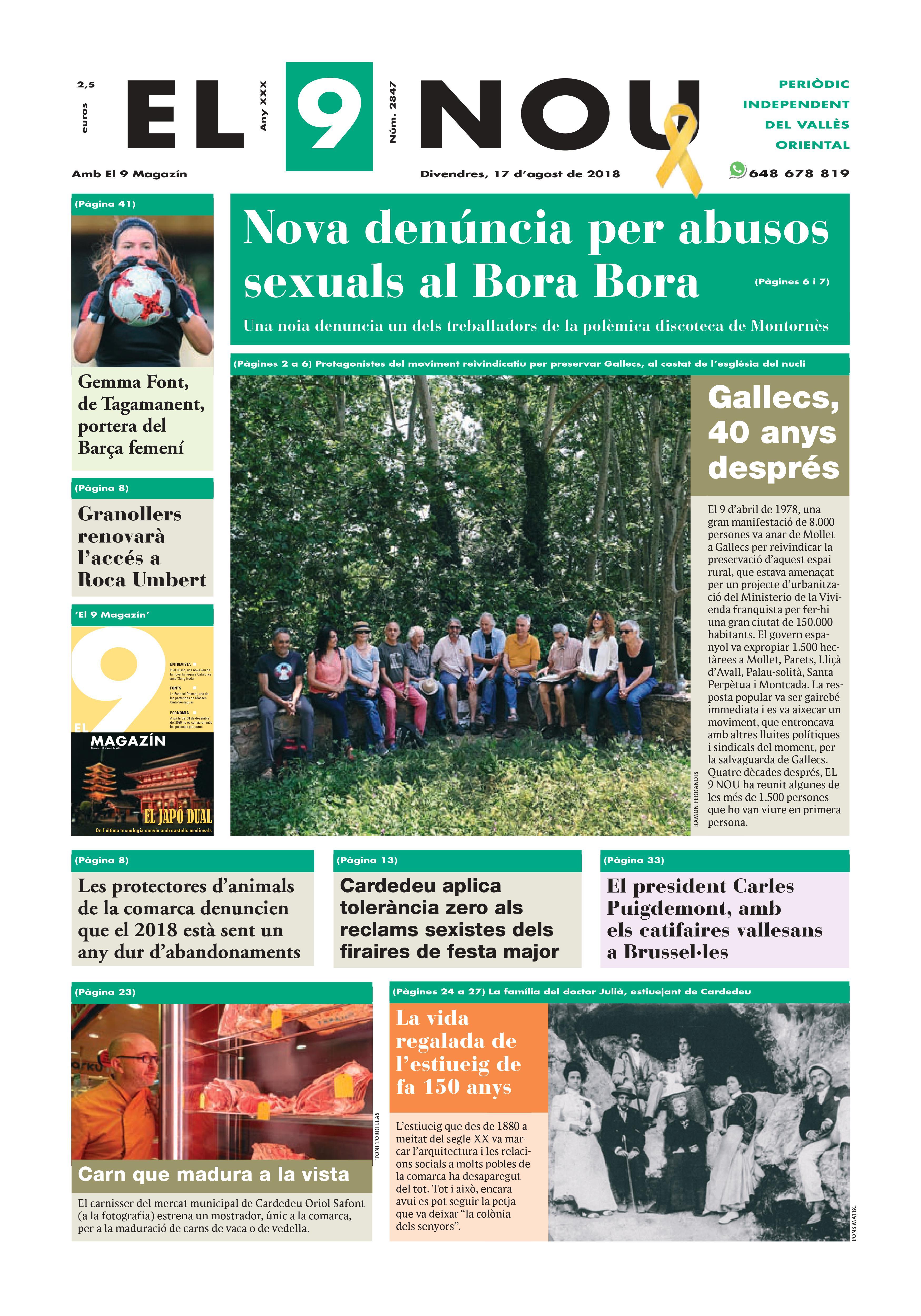 Primera plana EL 9 NOU 17_08_18 Vallès