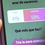 Missatges a Instagram