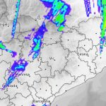 Imatge del radar del meteo.cat