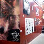 L'exposició temporal 'La petja del llop'