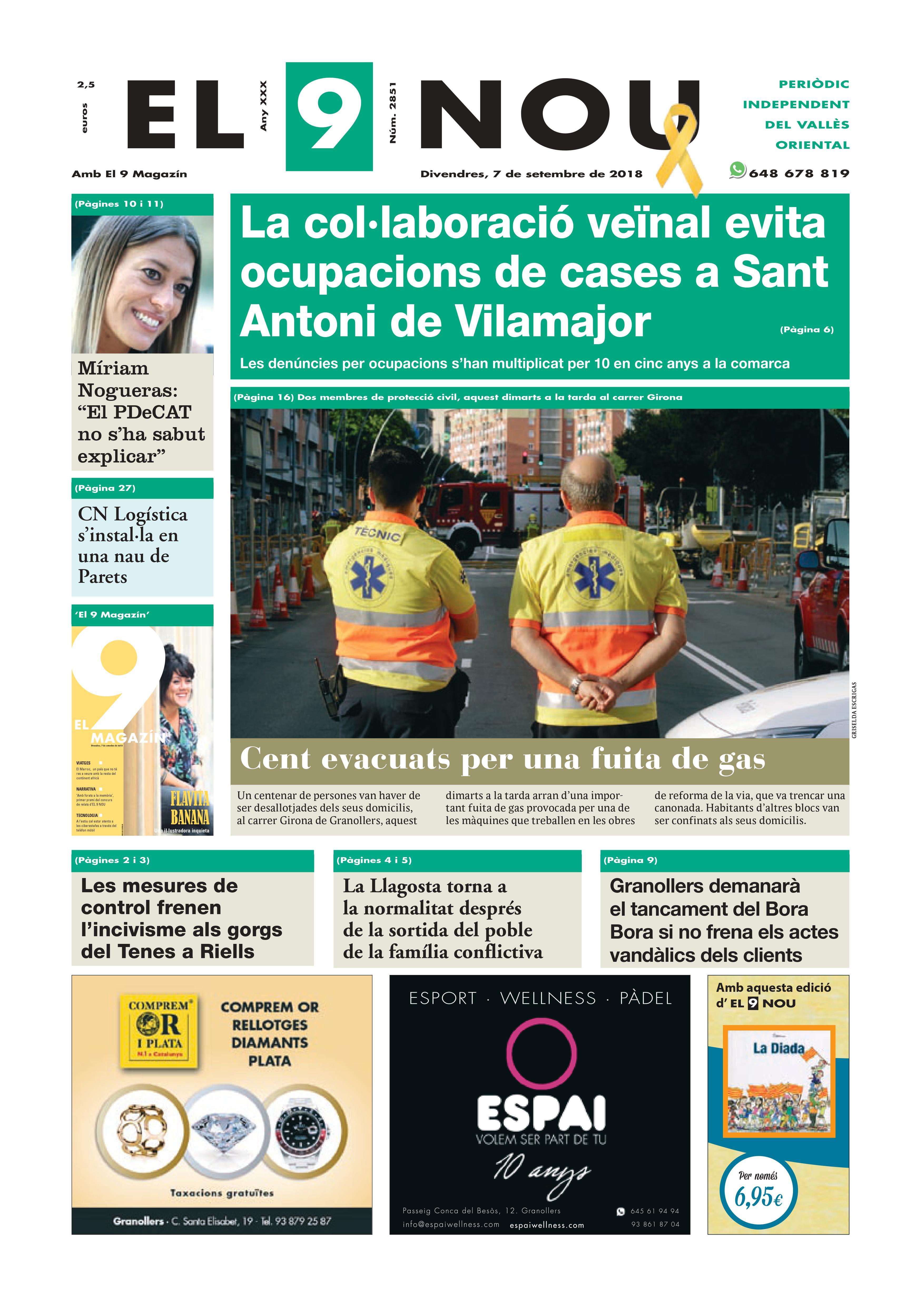 Primera Plana EL 9 NOU 07_09_18 Vallèsf-converted