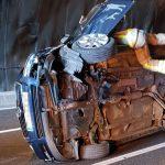 El vehicle que ha patit l'accident aquest matí en un túnel a la C-25