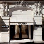 Façana de la botiga de Chanel a París