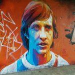 Un graffiti de Johan Cruyff