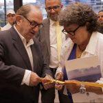 Joan Font i Gisela Saladich inaugurant el nou Esclat de Tossa de Mar