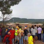 Una concentració a la presó de Lledoners