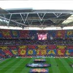 Wembley tenyit de blaugrana. / Ricard Carmona