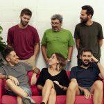 Part de l'equip de Bisgràfic que ha participat en la creació del diccionari digital