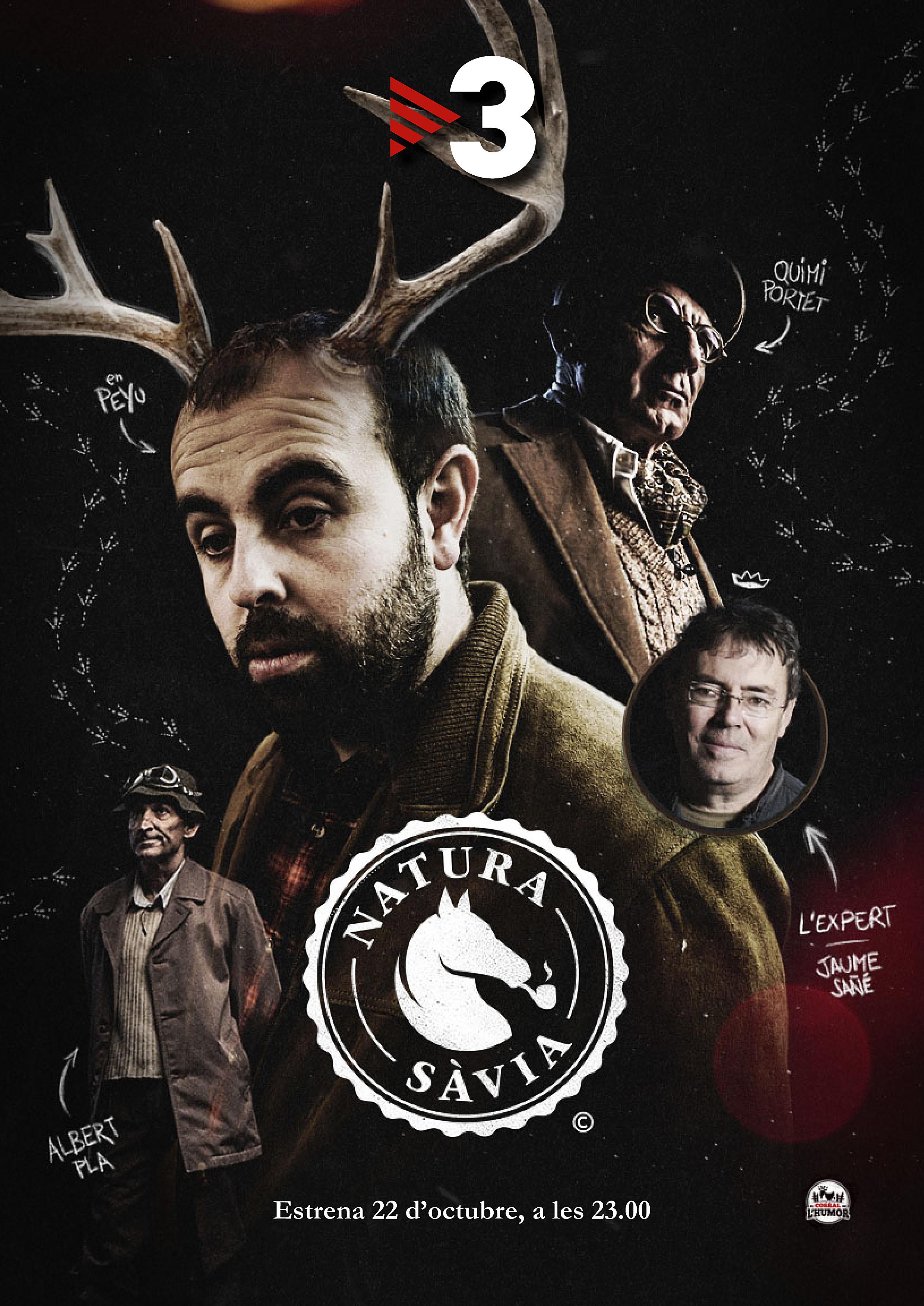 Caràtula promocional del programa, en què es detalla el paper de cada un dels quatre protagonistes