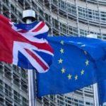 La bandera britànica es manté, de moment, a la seu de la UE a Brussel·les.