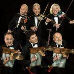 Els actuals integrants del grup còmic i musical argenti Les Luthiers