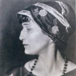 La poetessa russa Anna Akhmàtova (1889-1966)