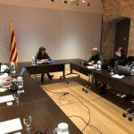 Teresa Jordà ha presidit la primera reunió de la Comissió per la Pesta Porcina Africana