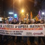 La manifestació va recórrer el centre de Mollet