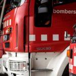 Efectius dels bombers han inspeccionat l'habitatge on es va produir la mala combustió de la caldera