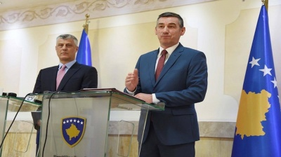 Kosovan president files bill on creating regular army
