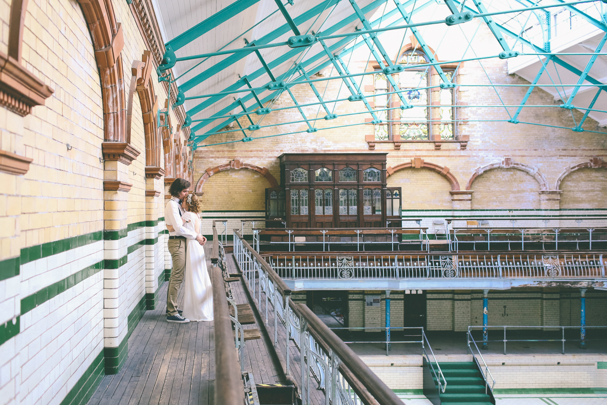 Victoria-Baths-Wedding- Photography-Manchester--49
